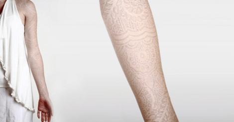 【生活】除了黑色刺青,妳不能不試試看的優雅白刺青!