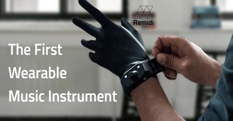 【新奇】手套也能玩音樂!超酷手套讓你動動手指就能做一首歌!