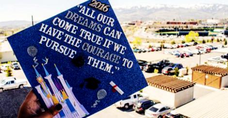 【創意】自己的畢業帽自己做!黑漆漆畢業帽落伍了!發揮創意改造它!