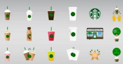 【生活】星巴克的表情符號!快點傳給好友說你想喝!!