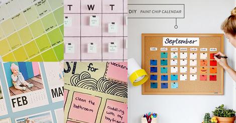 自己DIY的行事日曆絕對是外面都買不到的哦!!!!