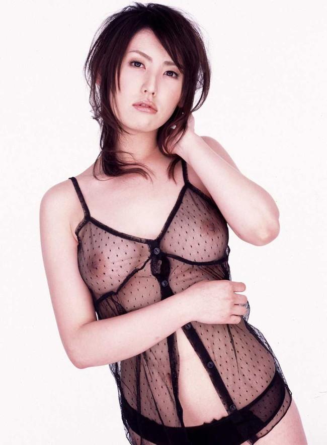 【ヌード画像】スケスケ下着が透けすぎて乳首もマン毛も見放題w(35枚) 27