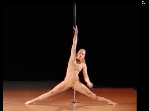 【ヌード画像】ポールダンスのエロさ爆発!棒に絡みつく美女の肢体が艶めかしいw(30枚) 21
