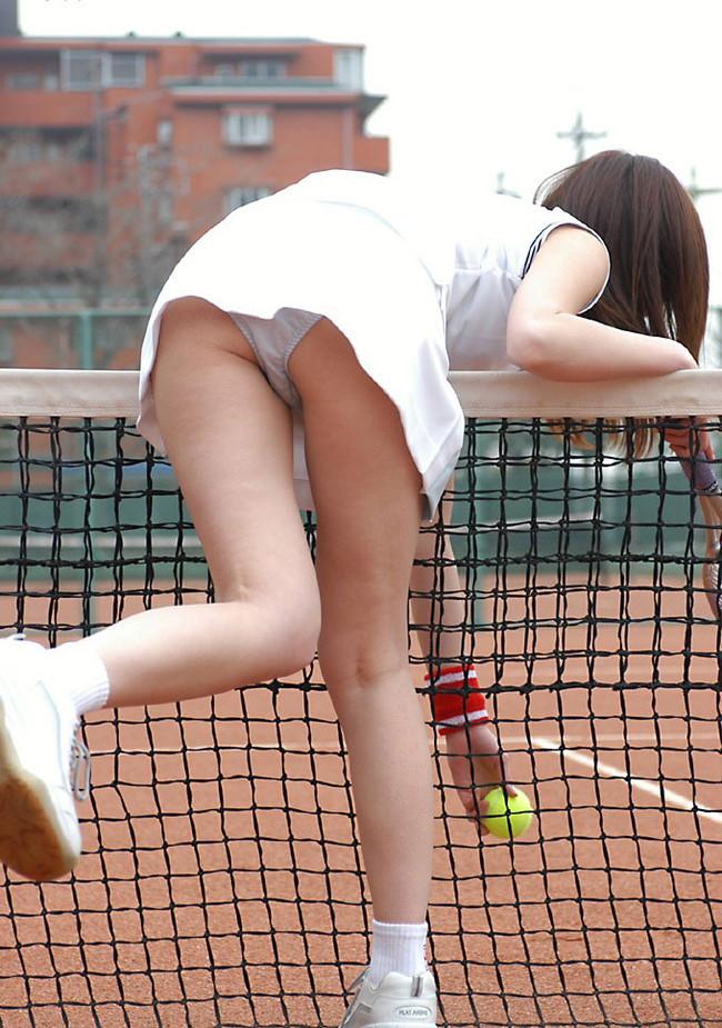 【ヌード画像】テニスウェア美少女に興奮wアンダースコートがいやらしいw(31枚) 06