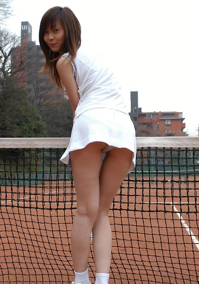 【ヌード画像】テニスウェア美少女に興奮wアンダースコートがいやらしいw(31枚) 09