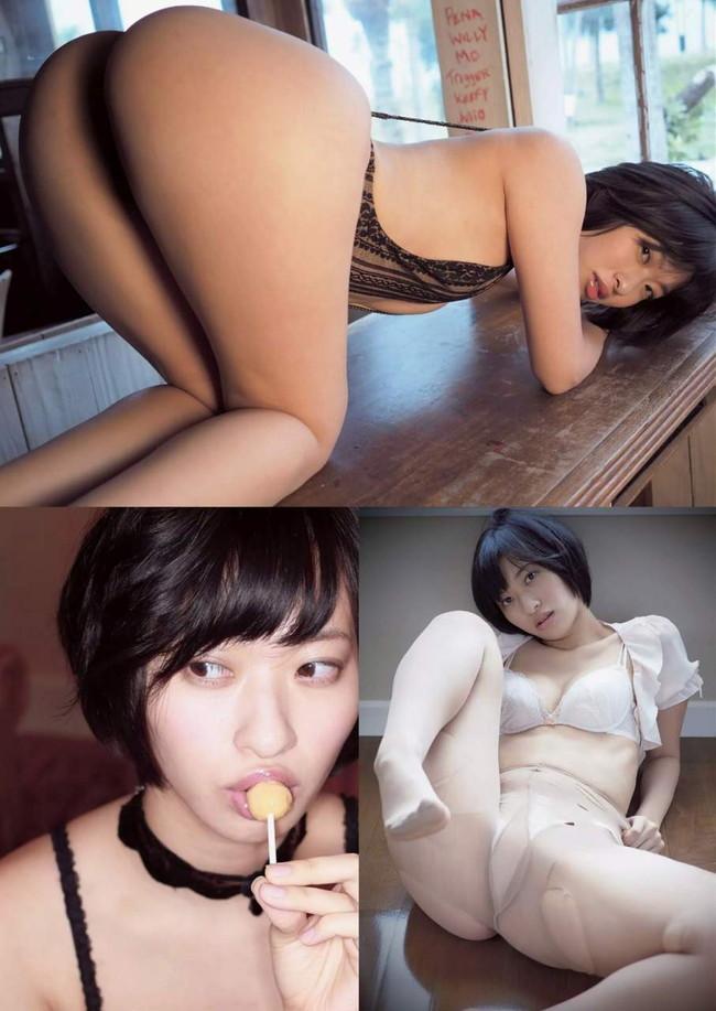【ヌード画像】尻ドル倉持由香のセクシーセミヌード画像(33枚) 29