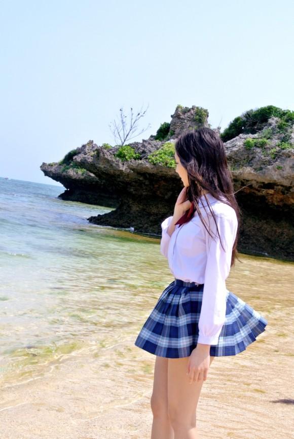 【ヌード画像】南の島の美少女たちが解放的スギw(30枚) 06