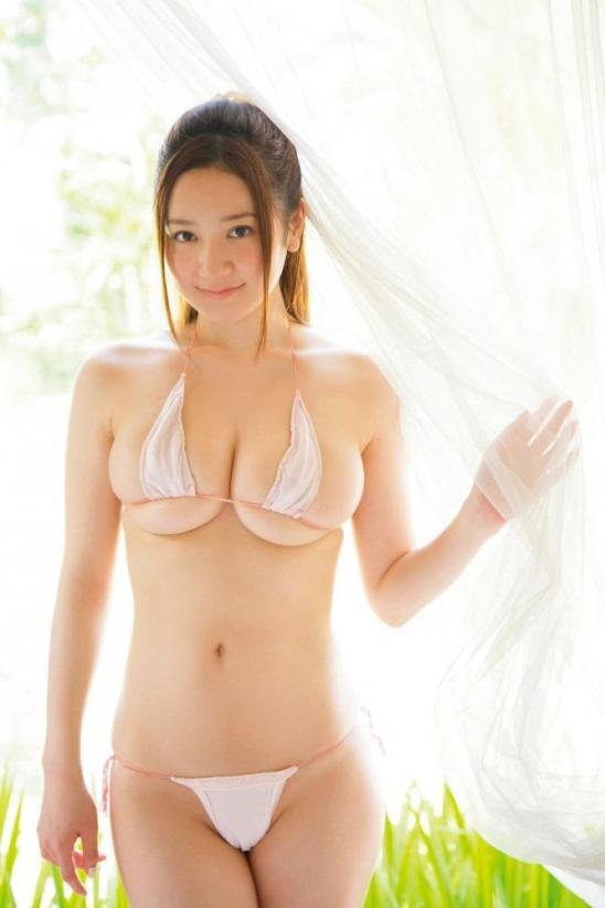 【ヌード画像】葉月ゆめのセクシー画像w肌に近い色の水着だと裸に見えるw(31枚) 18