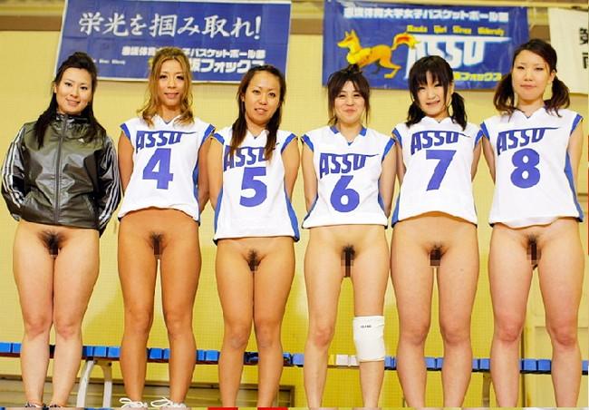 【ヌード画像】女の子の丸出しスポーツ姿が大胆すぎるw(31枚) 11