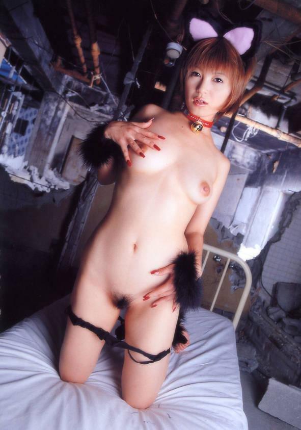 【ヌード画像】猫耳をつけた猫娘たちがカワイイw(32枚) 27