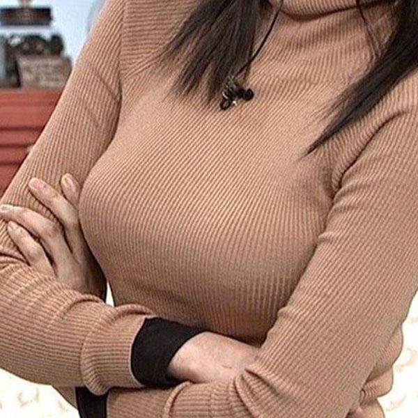 【ヌード画像】巨乳女がセーターを着た結果w(32枚) 09