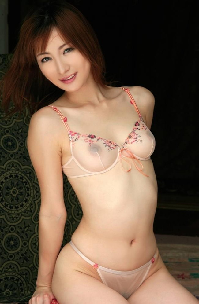 【ヌード画像】シースルー下着美女のスケスケ感w(31枚) 15