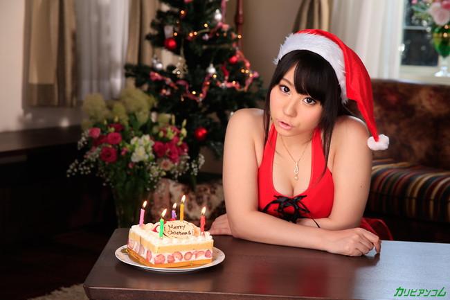 【ヌード画像】サンタ美女のエロ画像は見ていると癒されるw(33枚) 04
