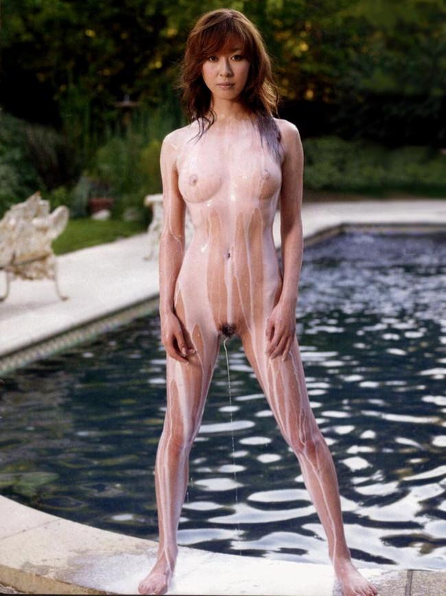 【ヌード画像】野外でこんな格好しちゃう女の子エロすぎだろ…(30枚) 17