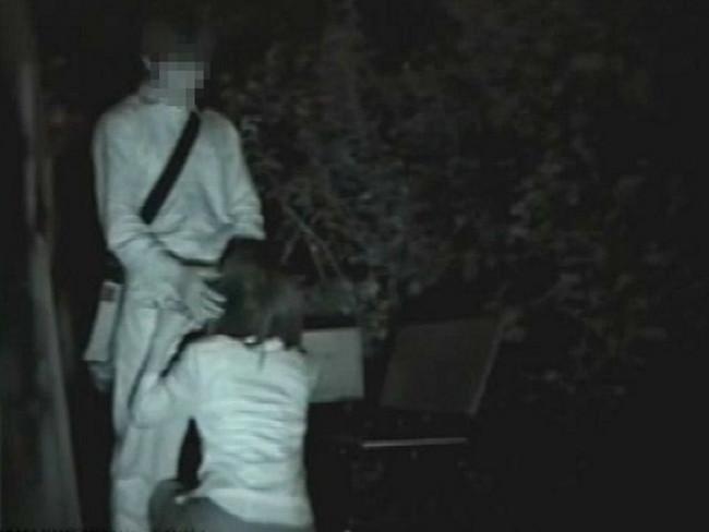【ヌード画像】公園での素人SEXを赤外線盗撮した画像集!盗撮されようが蚊に刺されようがとにかくSEX!ww(50枚) 19