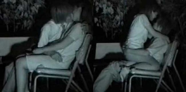 【ヌード画像】公園での素人SEXを赤外線盗撮した画像集!盗撮されようが蚊に刺されようがとにかくSEX!ww(50枚) 28