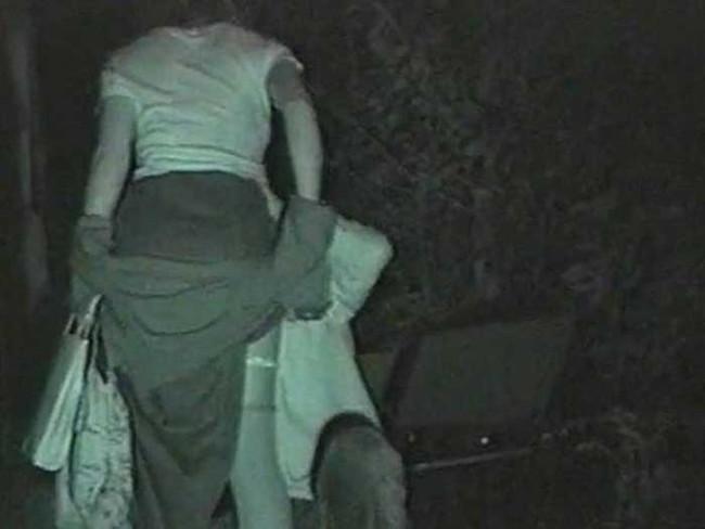 【ヌード画像】公園での素人SEXを赤外線盗撮した画像集!盗撮されようが蚊に刺されようがとにかくSEX!ww(50枚) 40