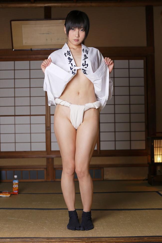 【ヌード画像】思いっきり尻肉にかぶりつきたい!ふんどし履いてる女の子のクッソエロいヌード画像集(50枚) 50