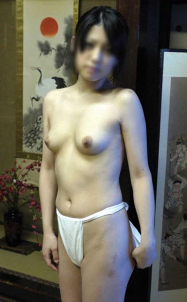【ヌード画像】思いっきり尻肉にかぶりつきたい!ふんどし履いてる女の子のクッソエロいヌード画像集(50枚) 28