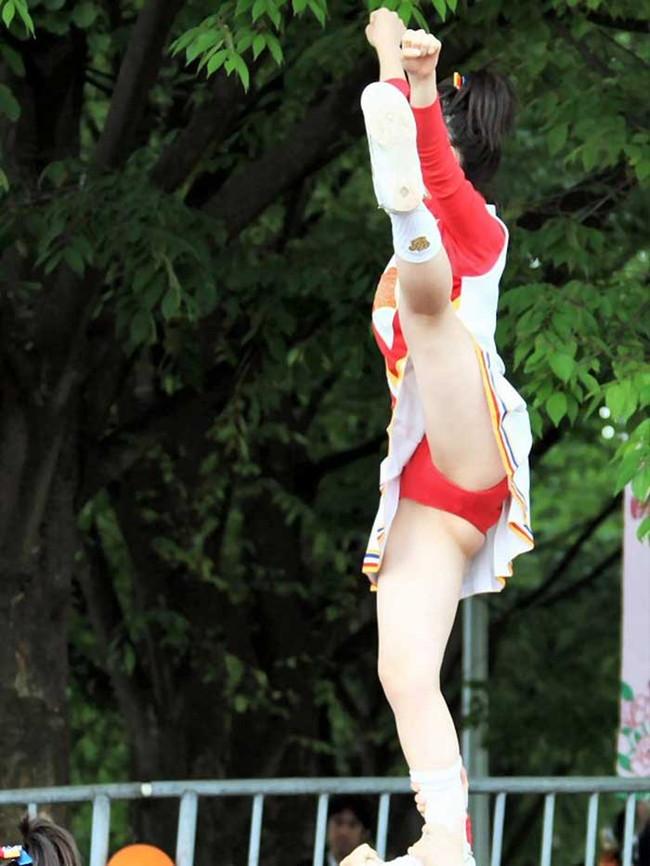 【ヌード画像】チアガールの限界まで広げた股間に元気と性欲100倍な俺が選んだチアガール開脚画像集!(50枚) 48