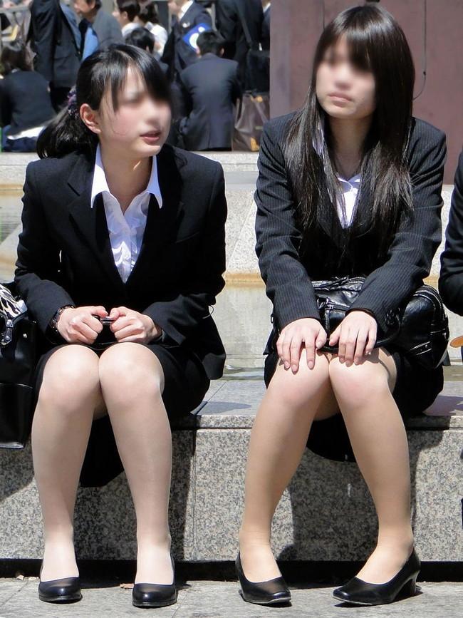 【ヌード画像】エロい!エロいぞリクルートスーツ!この初々しさとぴったりお尻のギャップ感がたまりません!(50枚) 50
