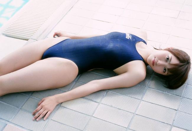 【ヌード画像】青春を思い出す競泳水着とスクール水着の画像(30枚) 12