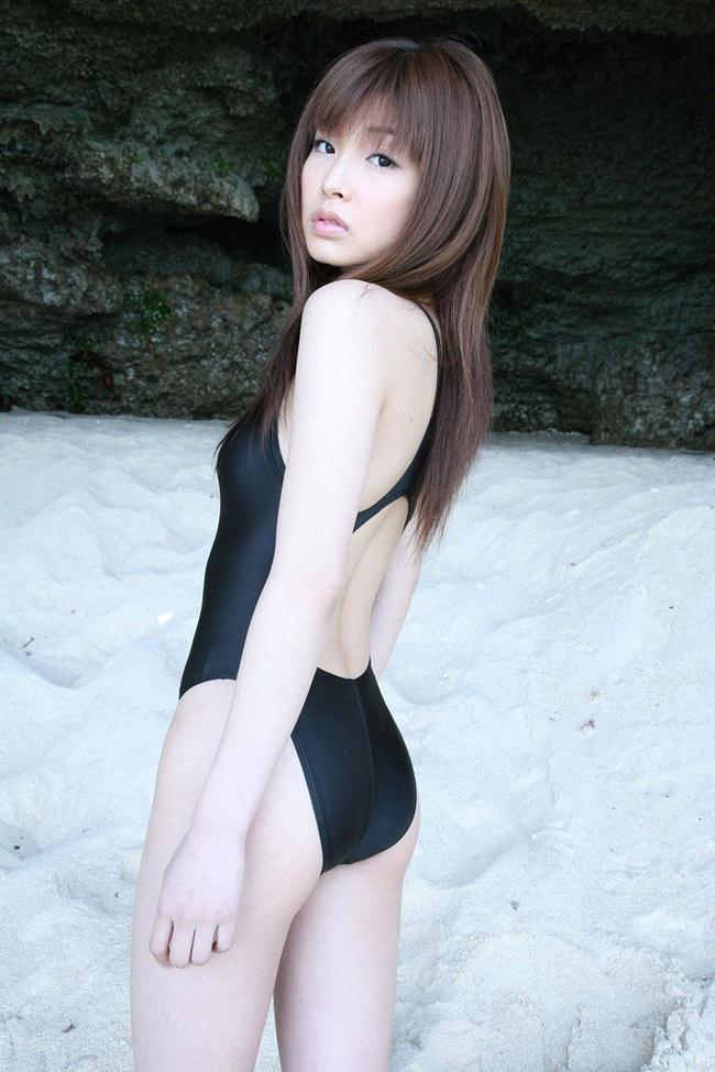 【ヌード画像】青春を思い出す競泳水着とスクール水着の画像(30枚) 13