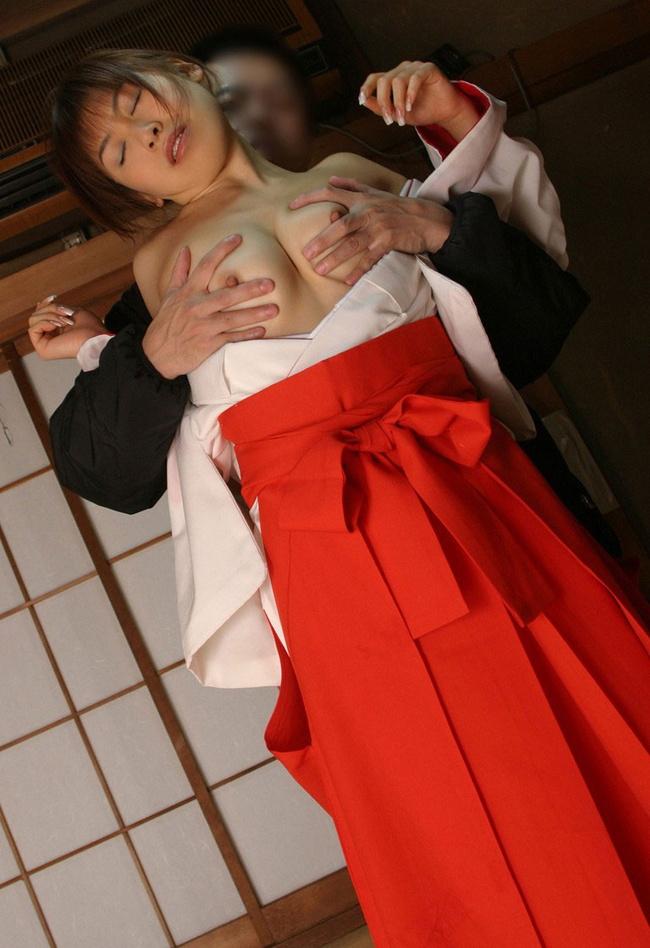 【ヌード画像】巫女は処女であるべきはずだけどエロいという矛盾画像(30枚) 18