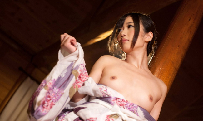 【ヌード画像】乱れる和服や浴衣ほど日本男児を刺激するものはない(30枚) 07
