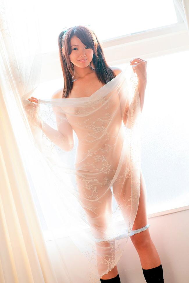 【ヌード画像】透け透けランジェリーと下着のシースルー画像(30枚) 25