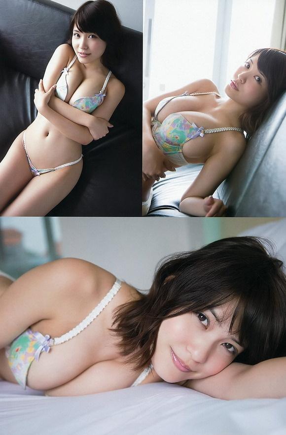 【ヌード画像】はんなりGカップこと岸明日香の90cmバスト画像(32枚) 06