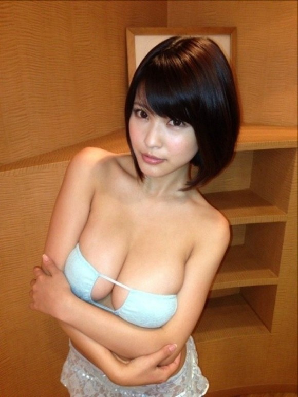 【ヌード画像】はんなりGカップこと岸明日香の90cmバスト画像(32枚) 11