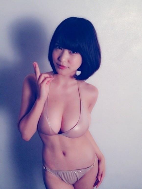 【ヌード画像】はんなりGカップこと岸明日香の90cmバスト画像(32枚) 14