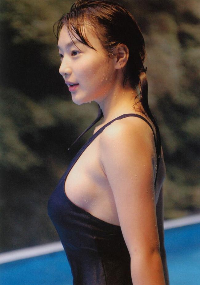 【ヌード画像】スク水・競泳水着は冬でもいけるのは何故か(30枚) 26