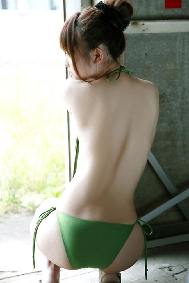 【ヌード画像】背中とくびれが語る、その女性のエロさ(30枚) 08