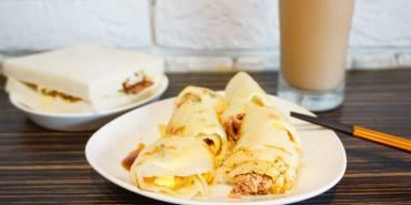 """【新北中和早午餐】好餓早餐    招牌肉蛋吐司""""別錯過隱藏版菜單!!"""