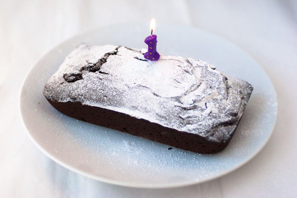 A Birthday Chocolate Cake