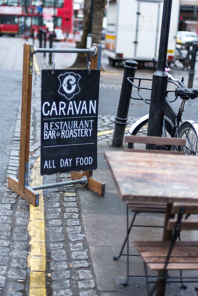 Brunch at Caravan Exmouth Market