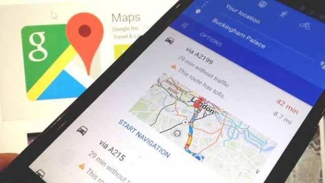 astuce google maps