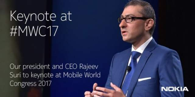 conférence Nokia MWC 2017