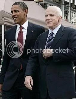 Obama and McCain, chillin'