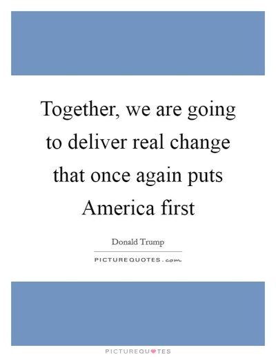 Together, we are going to deliver real change that once again... | Picture Quotes
