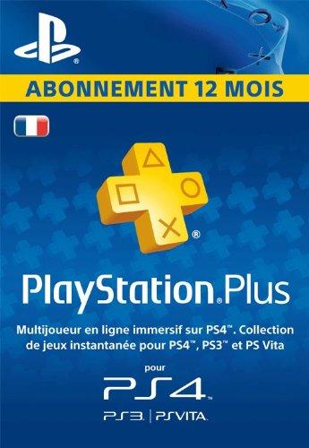 Abonnement PlayStation Plus 12 mois pas cher à 39,99