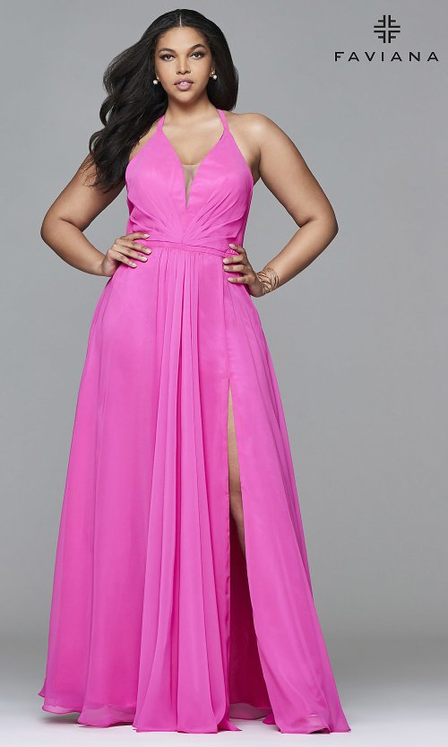 Graceful Size Prom Dresses Raleigh Nc Hover To Zoom Faviana Long Prom Dress Promgirl Size Prom Dresses Houston
