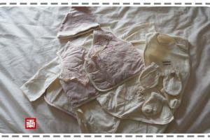 來自媽媽的愛與祝福~小風的第一套衣物:知蓮有機棉