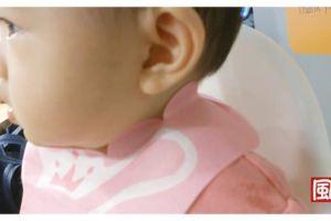 【試用】外出旅行用餐好幫手~Lullmini的FLORET嬰幼童拋棄型圍兜