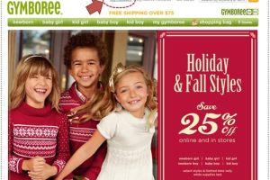第一次在網路上買GYMBOREE童裝就上手