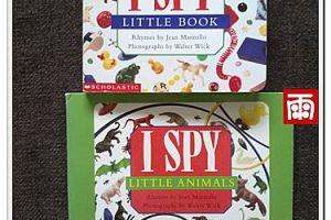 最近小雨的愛書之二~好玩的尋物書【I SPY系列】⊕2.2ys