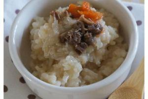 【小風副食品】補鐵好物之牛肉燴飯&蔬菜湯&蒸南瓜
