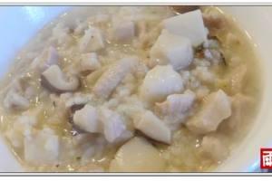 寒冬暖暖下肚的~芋頭鹹粥‧小小孩簡化版本